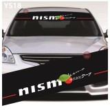 Universal Car Windscreen Sticker Front Or Rear Windscreen Windshield for Nismo (YS18)