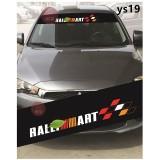 Universal Car Windscreen Sticker Front Or Rear Windscreen Windshield for Ralli Art (YS19) 10inch X 52inch