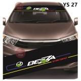 Universal Car Windscreen Sticker Front Or Rear Windscreen Windshield for bezza (YS27) 10inch X 52inch