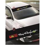 Universal Car Windscreen Sticker Front Or Rear Windscreen Windshield for TRD (YS32) 10inch X 52inch