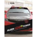 Universal Car Windscreen Sticker Front Or Rear Windscreen Windshield for Mugen Power (YS39) 10inch X 52inch