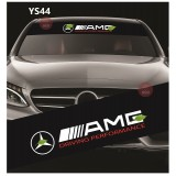 Universal Car Windscreen Sticker Front Or Rear Windscreen Windshield for AMG (YS44) 10inch X 52inch