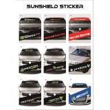 Universal Car Windscreen Sticker Front Or Rear Windscreen Windshield 10inch X 52inch YS1 - YS9