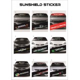 Universal Car Windscreen Sticker Front Or Rear Windscreen Windshield 10inch X 52inch YS10 - YS18