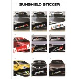 Universal Car Windscreen Sticker Front Or Rear Windscreen Windshield 10inch X 52inch YS19 - YS27