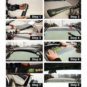 Universal Car Windscreen Sticker Front Or Rear Windscreen Windshield 10inch X 52inch YS19 - YS27