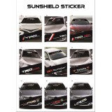 Universal Car Windscreen Sticker Front Or Rear Windscreen Windshield 10inch X 52inch YS28 - YS36