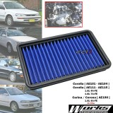 Works High Flow Engine Air Filter Kit For Toyota Corolla AE102 AE112 1.6L 1.8L