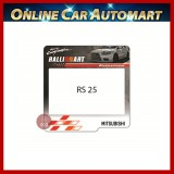 Mitsubishi Road Tax / Roadtax sticker (RS25)  14.5CMX14.5CM