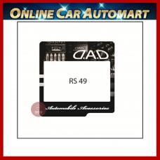 DAD Road Tax / Roadtax sticker (RS49)  14.5CMX14.5CM