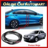 Proton Waja 16FT/5M (Carbon) Moulding Trim Rubber Strip Auto Door Scratch Protector Car Styling Invisible Decorative Tape (4 Doors)