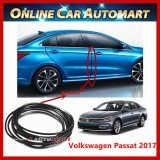 Volkswagen Passat 2017 16FT/5M (Carbon) Moulding Trim Rubber Strip Auto Door Scratch Protector Car Styling Invisible Decorative Tape (4 Doors)