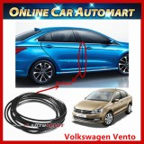 Volkswagen Vento 16FT/5M (Carbon) Moulding Trim Rubber Strip Auto Door Scratch Protector Car Styling Invisible Decorative Tape (4 Doors)