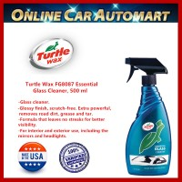 Turtle Wax FG8087 Essential Glass Cleaner, 500 ml