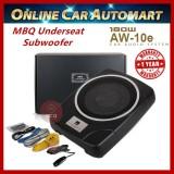 "MBQ Car Underseat 10"" Subwoofer built-in Power Amplifier"