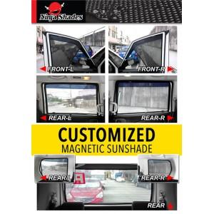 Volkswagen Golf 7 (2014-2018) Magnetic Ninja Sun Shade (5 pcs)