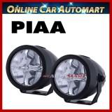"PIAA LP270 DK275X 2.75"" 6000K White LED Driving Light Kit 12V 8.5W SAE 1 Pair"