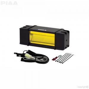 "PIAA - DKRF68X RF Series 6"" Yellow LED Light Bar Fog Beam Kit"