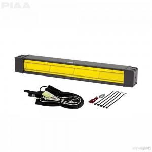 "PIAA - DKRF188X RF Series 18"" Yellow LED Light Bar Fog Beam Kit"