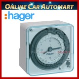 Hager EH711 16A 24hrs Timer Switch