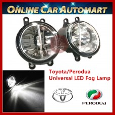 2Pcs Universal Toyota/ Perodua OEM Car Fog Light/Fog Lamp (BMW Type)