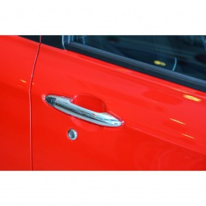 Perodua Alza Door Handle Cover And Protector -Chrome