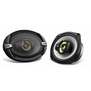 JVC CS-DR693HP  6'' x 9'' DR Series 600W Peak Power 3-Way Coaxial Car Speakers