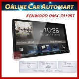 "Kenwood DMX7019BT (NO DVD) AV Receiver with 7.0"" WVGA Superfine view Display"