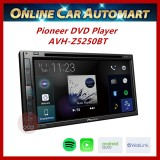 """Pioneer Double-DIN AVH-Z5250BT DVD/USB AV Receiver with 6.8"""" Touchscreen,Apple CarPlay, Android Auto,Built-in Bluetooth"""