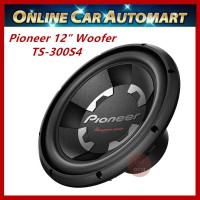 "Pioneer TS-300S4 12"" Champion Series 1400W 4Ohm Single Voice Coil Car Subwoofer"