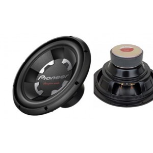 "Pioneer TS-300D4 12"" 1400W 4 Ohm Dual Voice Coil Car Subwoofer"