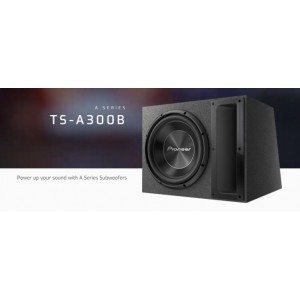 Pioneer TS-A300B A-Series 12˝ Pre-Loaded Subwoofer With Woofer Box System