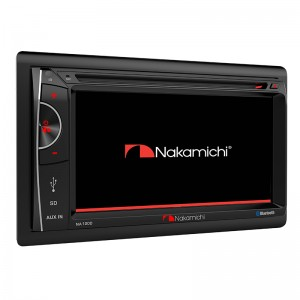 """Nakamichi NA1200 6.2"""" DVD/USB Player With Bluetooth"""