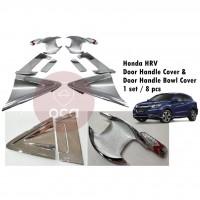 Honda HR-V / HRV Door Handle Cover / Door Handle Bowl Cover - 8 pcs