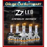 Z7 LED Headlight Auto Head light Lamp 6500k White Proton Perodua Honda Toyota