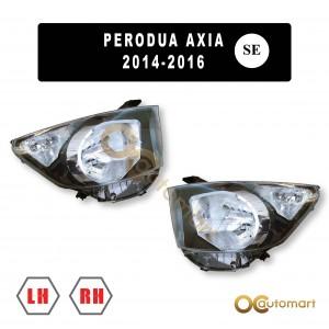 Perodua Axia SE 2014-2016 HeadLamp / Head Lamp Light