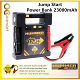 Hummer H24 23000mAh Jump Starter Power Bank 12V or 24V Jump Start Vehicle / Truck / Bus /Lorry