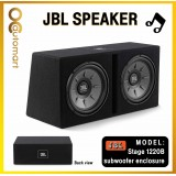 """JBL Stage 1220B Dual 12"""" Subwoofer with Enclosure"""
