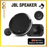 "JBL STADIUM GTO 600C - Stadium GTO600C 6-1/2"" (160mm) two-way component system w/ gap switchable crossover"