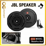"JBL BassPro Hub 11"" Spare Tire Subwoofer w/ Enclosure and Built-In Amplifier"