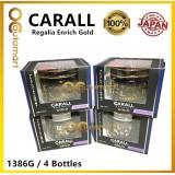 4x Original CARALL Regalia Enrich Velvet Musk GOLD Series / 1386G / 1386 G Air Refreshener 65ml (Special Edition)( Made in Japan)