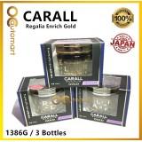 3x Original CARALL Regalia Enrich Velvet Musk GOLD Series / 1386G / 1386 G Air Refreshener 65ml (Special Edition)( Made in Japan)
