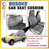Mitsubishi Storm Yr 2001-2005 - Custom Fit OEM Car Seat Cushion Cover PVC ( Made in Malaysia )