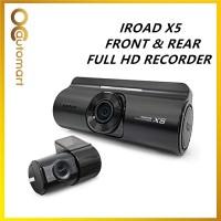 IROAD X5 DVR FRONT & REAR CAR RECORDER CAR DASH CAM CMOS FULL HD WI-FI (MADE IN KOREA)