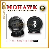 Mohawk 2.5 Inch Full Range Speaker ( MS2.5 ) Silver Series