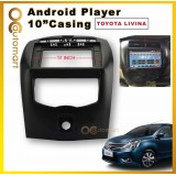 Nissan Livina 2007-2016 10-Inch Android Player Casing