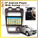 Perodua Kancil 2002 Above Big Screen Casing Android Player (9 inch) Android Player With Casing IPS MKT Screen 1GB Android 8.1 Plug and Play With WIFI And TouchScreen MP3 MP4 MP5 CD FM USB SD BT (NO DVD)