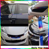 Titanium Wrapping Sticker Car Sticker for Universal Car Model Chrome Surface (4inch x 46inch)