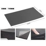 Car Sound Proof Door Bonnet rubber Seal 100x50cm Deadening Deadener Insulation Heat Shield Foam Car Carpet Mat Cover 10mm 5mm