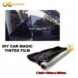 DIY Car Magic Tinted Film 50CM x 300CM One Roll 4 Windows 90%